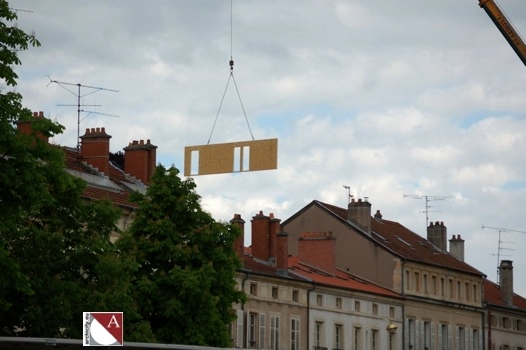 Construction de 5 logements en ossature bois en plein centre de nancy